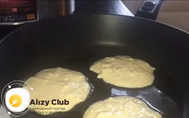 Смотрите как приготовить оладушки на кефире