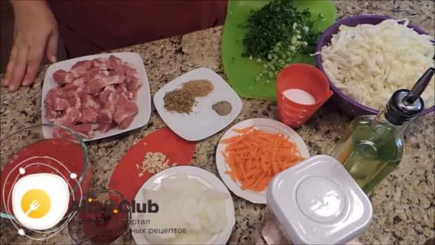 Смотрите рецепт тушеной капусты с мясом