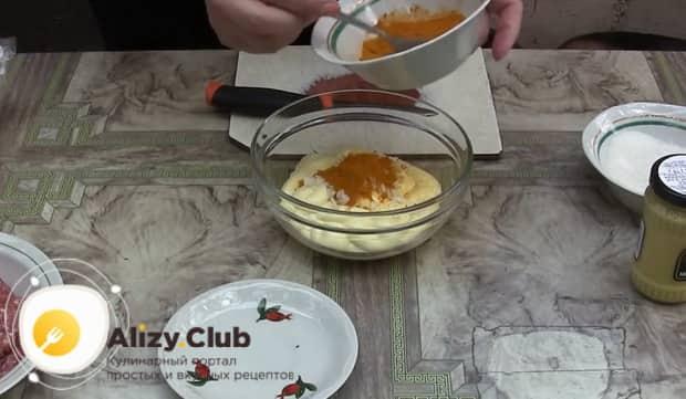 Для приготовления соуса для гамбургера в домашних условиях приготовьте специи