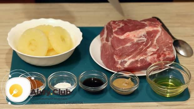 Готовим свинину с ананасами по простому рецепту