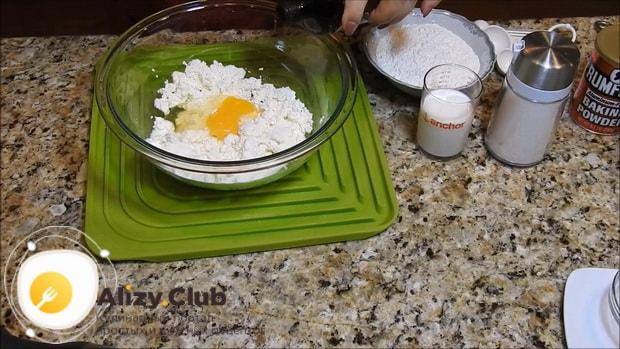 Готовим оладьи с творогом по пошаговому рецепту с фото