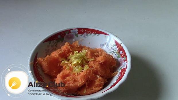 Для приготовления пирога из тыквы в мультиварке приготовьте ингредиенты