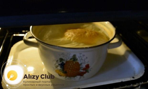 Ряженка в домашних условиях обычно готовится в духовке.