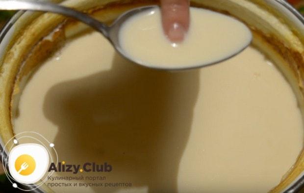 Топленое молоко остужаем до температуры в 40 градусом.