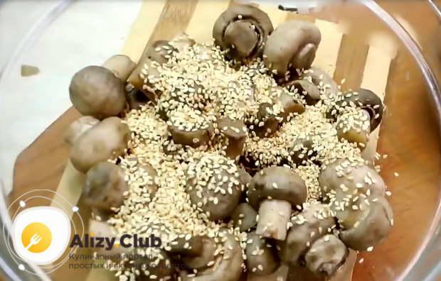 Рецепт вкусных маринованных шампиньонов