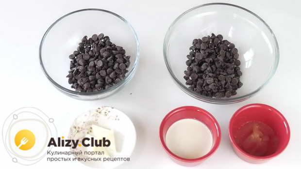Рецепт ганаша из молочного шоколада для покрытия торта с подтеками