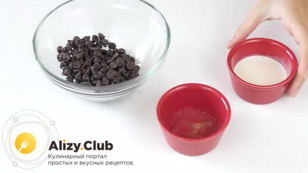 Вариант шоколадного ганаша с желатином