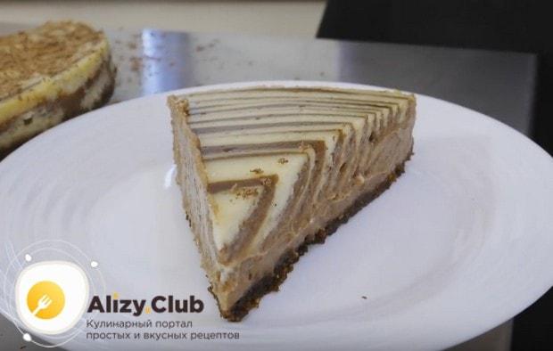 Такой десерт не только получается вкусным, но и выглядит очень достойно!