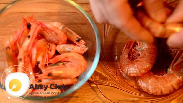 салат из морепродуктов рецепт морской коктейль