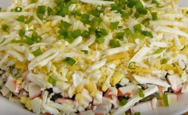 Как приготовить салат из морской капусты по пошаговому рецепту с фото