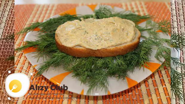 Видео рецепта масла из селедки и моркови