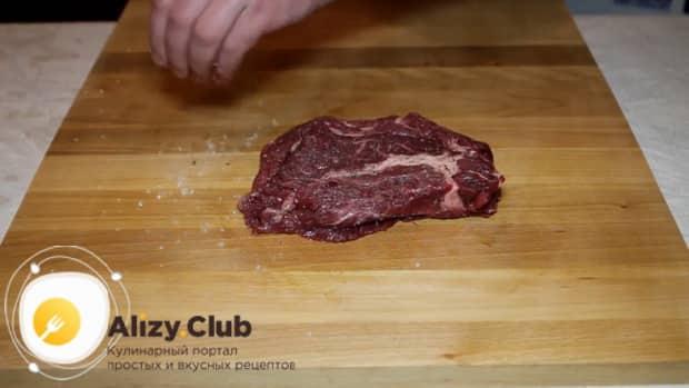 Все о том как приготовить чак ролл стейк на сковороде