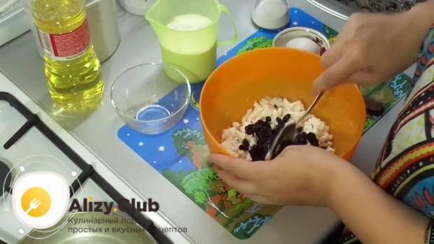 сырники из творожной массы с изюмом рецепт
