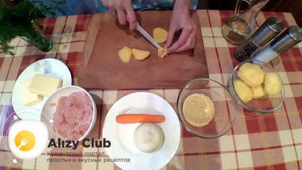 Рецепт сырного сливочного супа с фрикадельками