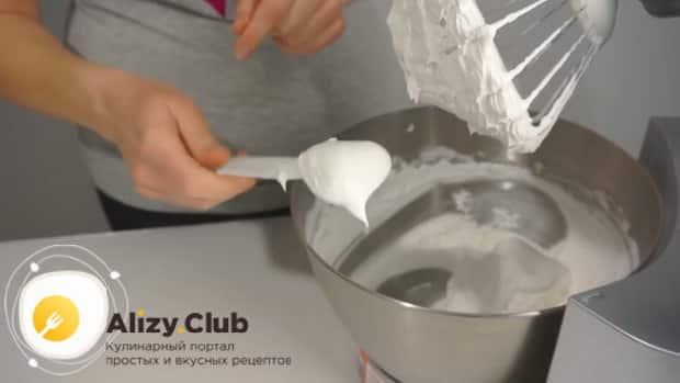 Смотрите как сделать белково заварной крем