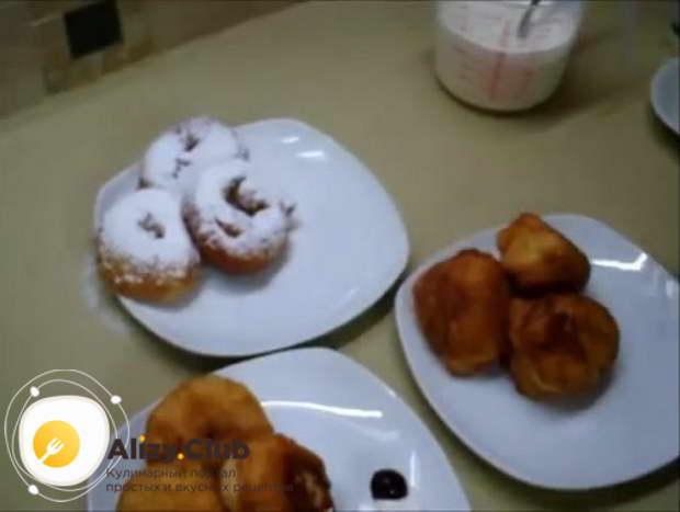 рецепт приготовления жидкого теста для пончиков