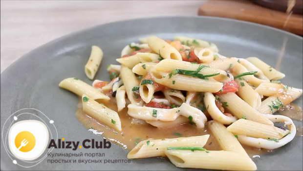 Видео рецепта приготовления пасты