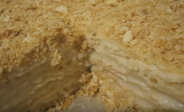 Классический рецепт приготовления торта «Наполеон»