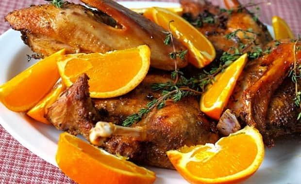 Как готовить утку в духовке с апельсином