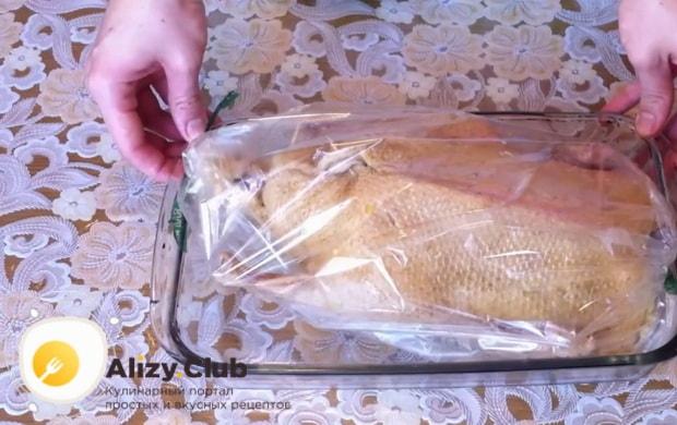 Смотрите как приготовить утку с апельсинами в духовке в фольге