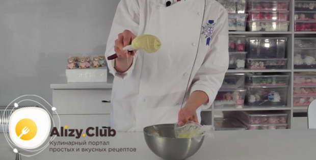 Видео рецепта ванильного белого ганаша для торта