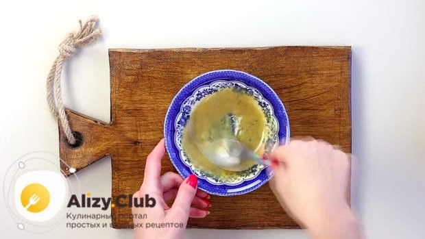 Кладем пол чайной ложки соли