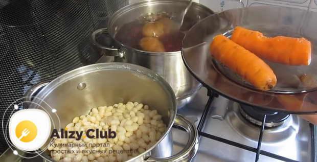 винегрет рецепт классический с фасолью