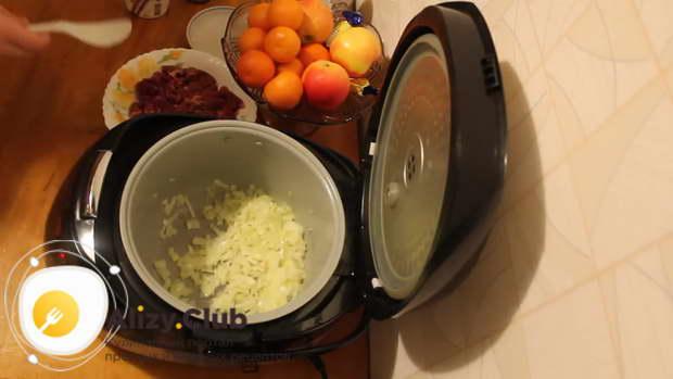 куриные сердечки с рисом в мультиварке