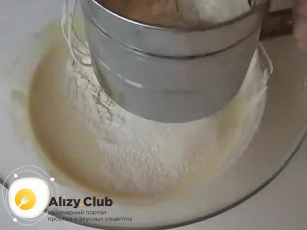 тесто на майонезе для пирога с капустой