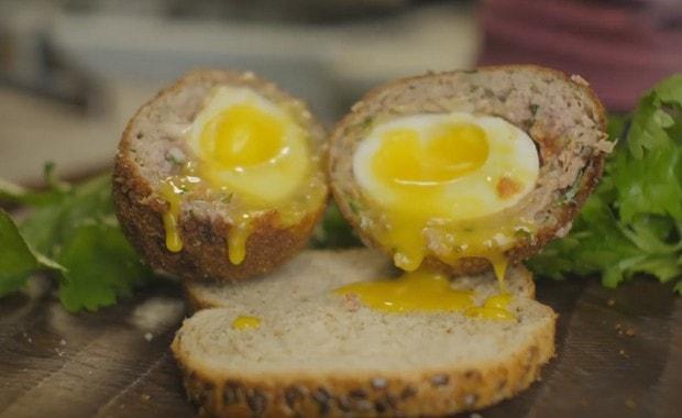 Пошаговый рецепт приготовления яиц по-шотландски с фото