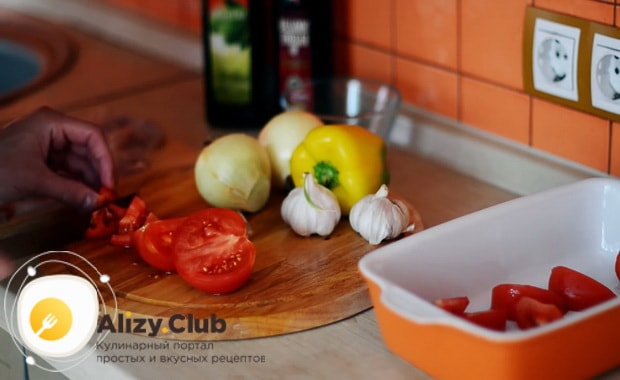 Готовим запесченые куриные ножки с овощами в духовке