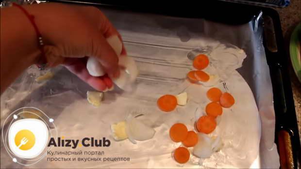 тилапия в фольге в духовке рецепт
