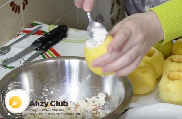 Готовим печеные яблоки в духовке с медом домашних условиях