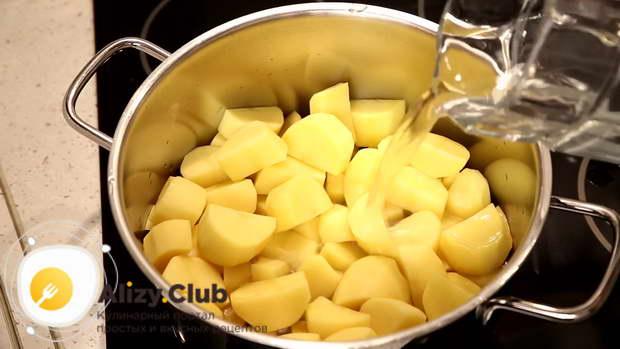 запеканка картофельное пюре с фаршем в духовке