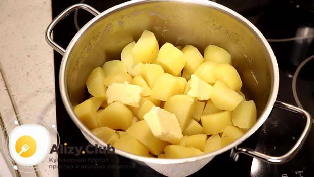 запеканка из картофельного пюре с мясом