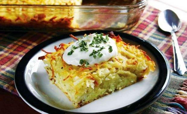 Пошаговый рецепт приготовления картофельной бабки с фото