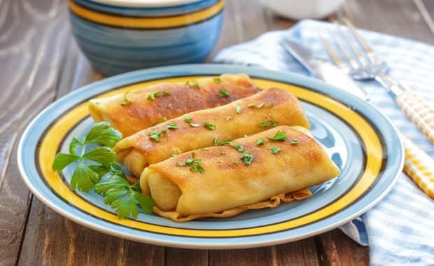 Блины с печенью: пошаговый рецепт с фото