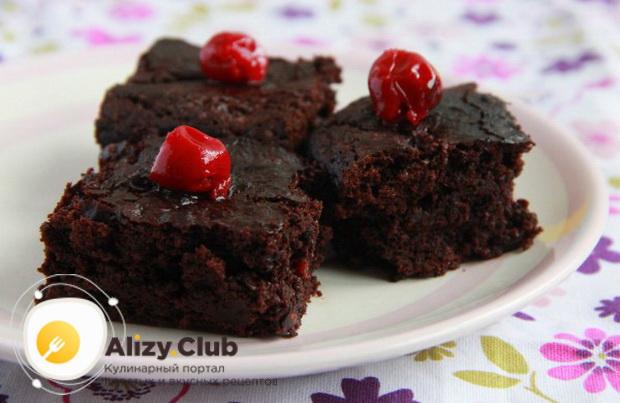 Как приготовить шоколадный брауни в мультиварке по подробному рецепту