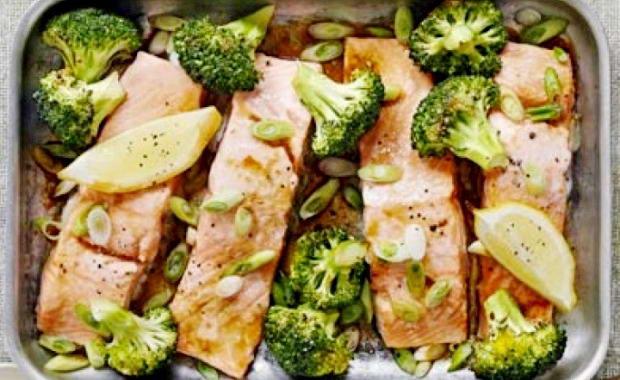 блюда из брокколи в духовке