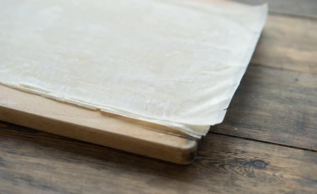 Как приготовить тесто фило (вытяжное) по пошаговому рецепту с фото