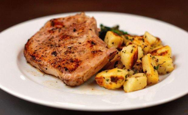 Пошаговый рецепт приготовления гарнира к мясу с фото
