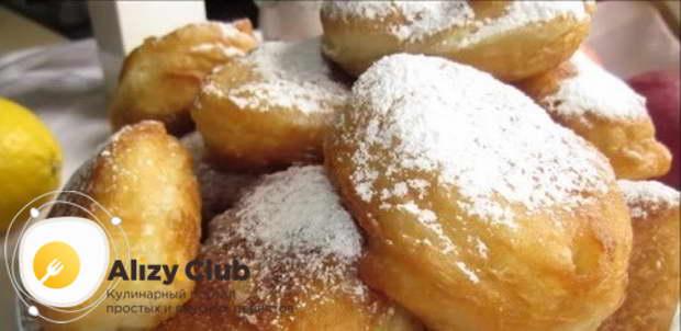 как подавать и украшать пончики