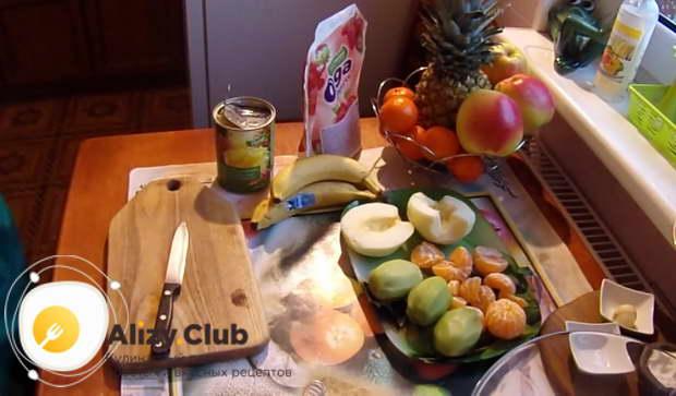 как правильно выбирать фрукты для салата с йогуртом