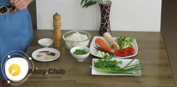 гарнир из овощей к мясу