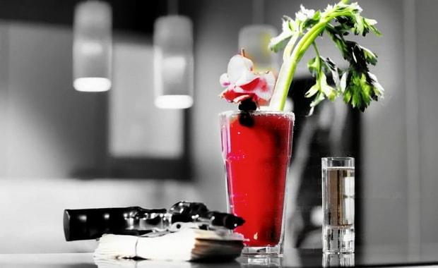 Как приготовить коктейль Кровавая Мери по пошаговому рецепту с фото