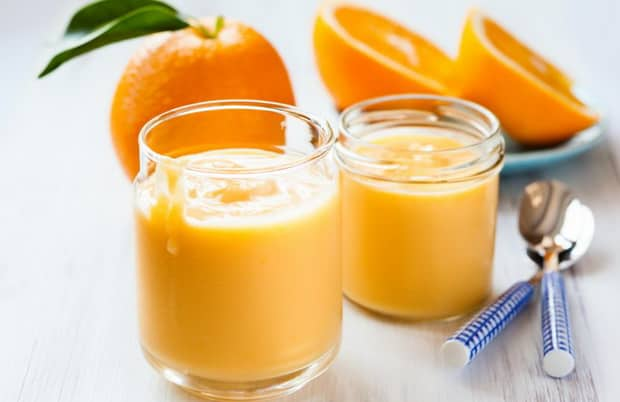 Вкусный апельсиновый курд готов