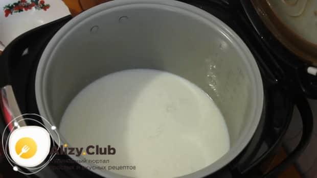 Как готовится молочная лапша для ребенка