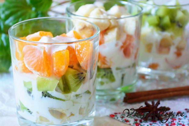Варианты приготовления йогурта и салата