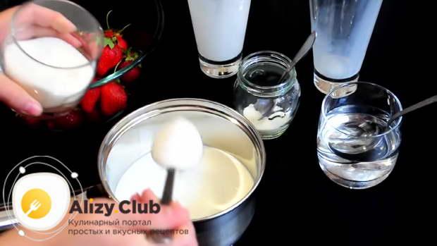 панна котта рецепт классический пошаговый