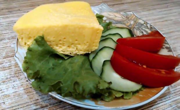 Пошаговый рецепт приготовления парового омлета с фото